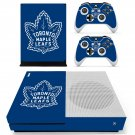 Toronto Maple Leafs decal skin sticker for Xbox One S console and controllers