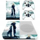 Final Fantasy 7 decal skin sticker for Xbox One S console and controllers