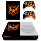 Tom Clancy's The Division decal skin sticker for Xbox One S console and controllers