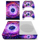 Floral star decal skin sticker for Xbox One S console and controllers