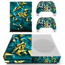 Nice wallpaper decal skin sticker for Xbox One S console and controllers