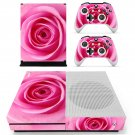 Nice Rose decal skin sticker for Xbox One S console and controllers