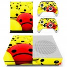 Emoji decal skin sticker for Xbox One S console and controllers