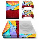 Ride the rainbows decal skin sticker for Xbox One S console and controllers
