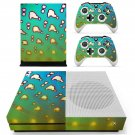 Clipart decal skin sticker for Xbox One S console and controllers