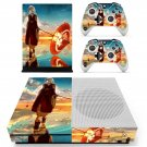 Anime water umbrella decal skin sticker for Xbox One S console and controllers
