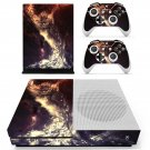 Space wallpapers decal skin sticker for Xbox One S console and controllers