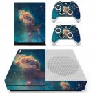 Space objects decal skin sticker for Xbox One S console and controllers