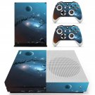 Space Planet decal skin sticker for Xbox One S console and controllers