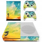 Painted Scene decal skin sticker for Xbox One S console and controllers