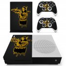 Mona lisa with bazooka decal skin sticker for Xbox One S console and controllers