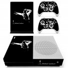 Michael Jackson decal skin sticker for Xbox One S console and controllers