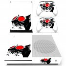 Cat Woman decal skin sticker for Xbox One S console and controllers