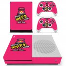 X game over decal skin sticker for Xbox One S console and controllers