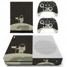 Astronaut Clipart decal skin sticker for Xbox One S console and controllers