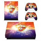 Russian professional FC decal skin sticker for Xbox One X console and controllers