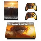 Shadow of the tomb raider decal skin sticker for Xbox One X console and controllers