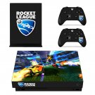 Rocket League decal skin sticker for Xbox One X console and controllers