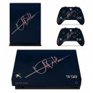 Usain Bolt decal skin sticker for Xbox One X console and controllers