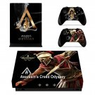 Assassins Creed Odyssey decal skin sticker for Xbox One X console and controllers