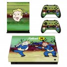 Fallout 76 decal skin sticker for Xbox One X console and controllers