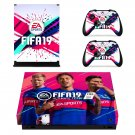 FIFA 19 Neymar decal skin sticker for Xbox One X console and controllers