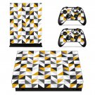 Traingle wallpaper decal skin sticker for Xbox One X console and controllers