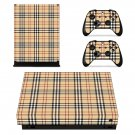Tartan decal skin sticker for Xbox One X console and controllers