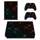 Nice wallpaper decal skin sticker for Xbox One X console and controllers