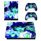 Mythical creature decal skin sticker for Xbox One X console and controllers