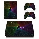 Pentagram decal skin sticker for Xbox One X console and controllers
