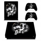 Dead eyre decal skin sticker for Xbox One X console and controllers