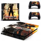 Shadow of the tomb raider decal skin sticker for PS4 console and controllers