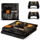 Call of Duty Black ops 4 decal skin sticker for PS4 console and controllers