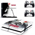 Fortnite high stakes decal skin sticker for PS4 console and controllers