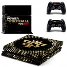 PES 2019 decal skin sticker for PS4 console and controllers
