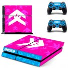 Smosh decal skin sticker for PS4 console and controllers