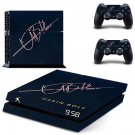 Usain Bolt decal skin sticker for PS4 console and controllers