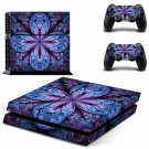 Floral Leaf decal skin sticker for PS4 console and controllers