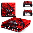 Metal Structure decal skin sticker for PS4 console and controllers