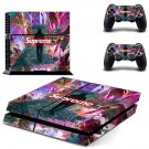 Supreme decal skin sticker for PS4 console and controllers
