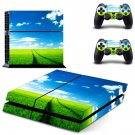 Natural wallpaper decal skin sticker for PS4 console and controllers