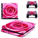 Nice Rose decal skin sticker for PS4 console and controllers