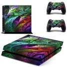 Leaf wallpaper decal skin sticker for PS4 console and controllers