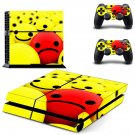 Emoji decal skin sticker for PS4 console and controllers