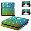 Clipart decal skin sticker for PS4 console and controllers