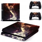 Space scene decal skin sticker for PS4 console and controllers