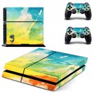 Painted Picture decal skin sticker for PS4 console and controllers