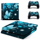 Butterflies decal skin sticker for PS4 console and controllers