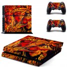 Ortega maila decal skin sticker for PS4 console and controllers